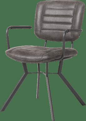 fauteuil 4 pieds avec liaison crois e - tissu secilia