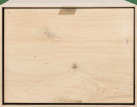 box 45 x 60 cm. + legplank - hang + klep
