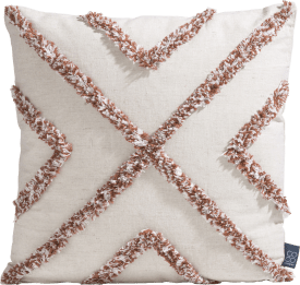 crisscross cushion 45x45cm