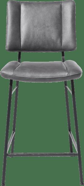 chaise de bar - pieds noir - tissu pala
