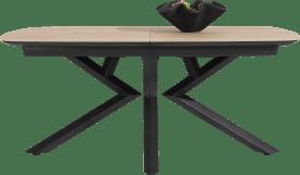 ausziehtisch ovale - 180 (+ 60) x 110 cm