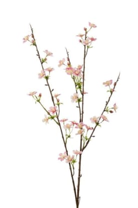 apple blossom artificial flower h85cm