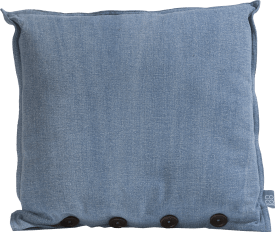 denim cushion 45x45cm