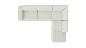2,5 seater arm left - corner part - ottomane small right