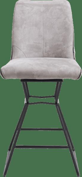 chaise de bar cadre noir + combi tissu savannah / pala