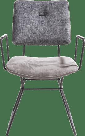 fauteuil - cadre noir - combinaison kibo / fantasy