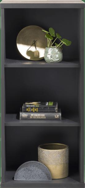 hang- en staand mogelijk - element 45 cm. - 3-niches