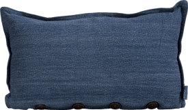 denim cushion 30x50cm