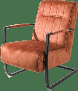 fauteuil accoudoir en metal noir