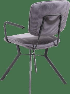fauteuil 4 pieds avec liaison crois e - tissu maison