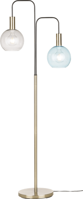 gaby, vloerlamp 2-lamps