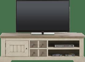 tv-sideboard 160 cm - 1-tuer + 2-laden + 2-nischen