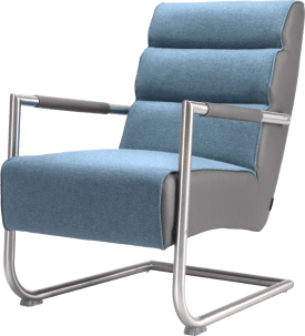 fauteuil - rvs