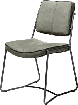 chaise cadre anthracite - savannah + passepoil tatra anthracite