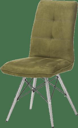 chaise - pietement inox design
