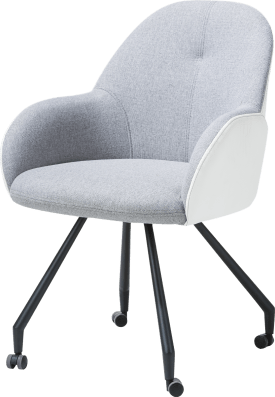 fauteuil avec roulettes - combi gibson / tatra