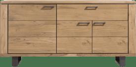 dressoir 180 cm - 3-deuren + 1-lade