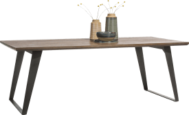 table 240 x 100 cm - pied carre