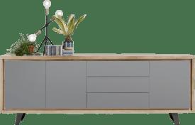 sideboard 240 cm - 3-tueren + 3-laden