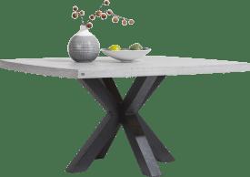 table 150 x 150 cm - plateau beton