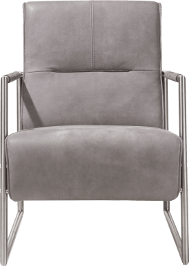 easy chair with stainless steel armrest