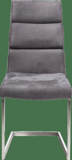 stuhl-swing edelstahl viereckig + handgriff viereckig-savannah/kibo