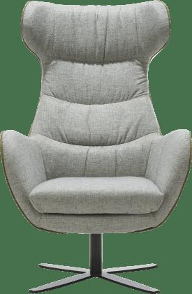 fauteuil - voet in zwart metaal