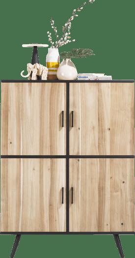 armoire 114 cm - 4-portes