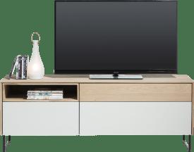 lowboard 3-drawers + 1-niche - 160 cm (+ led)