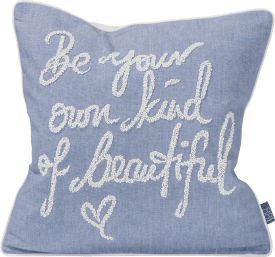 be beautiful coussin 45x45cm