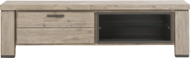 tv-dressoir 160 cm - 1-klep + 2-niches