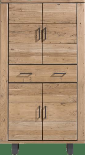 bergkast 110 cm - 4-deuren + 1-lade