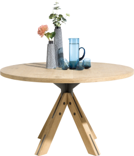table ronde 130 cm - pied central