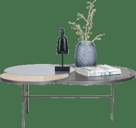 salontafel 3-bladen - 110 x 85 cm