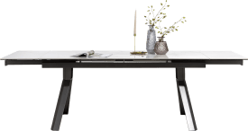 extendable dining table 180 (+ 2x40) x 90 cm