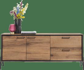dressoir 180 cm - 2-deuren + 2-laden