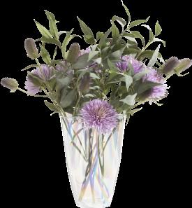 cloud vase h40cm