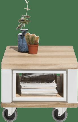 table d'appoint 60 x 50 cm + 1-niche