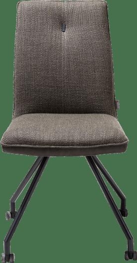chaise + roulettes - combination secilia / vito + poignee rond