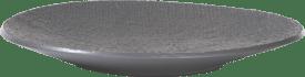 assiette living large - anthracite ou beige - diametre 39 cm