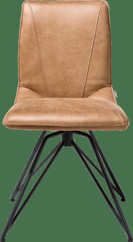 chaise - pied off black - rocky + poignee catania noir