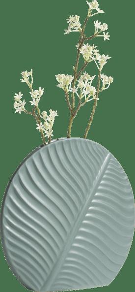 banana leaf vase l h31cm