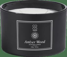 bougie parfume xl amber wood