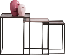 houston beistelltisch-set h52-46-42cm