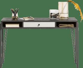 console 120 x 40 cm + 1-tiroir + 2-niches