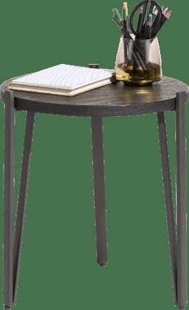 table d'appoint rond - diametre 40 cm