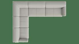 2,5 Sitzer Armlehne links - Eckteil - 4 Sitzer Armlehne rechts