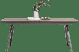 uitschuiftafel 160 (+ 50) x 98 cm