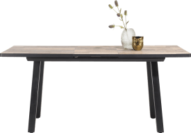 table de bar extensible 160 (+ 50) x 98 cm