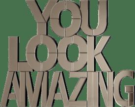 amazing spiegel 90x116cm